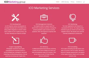 Affordable ICO marketing services agency.